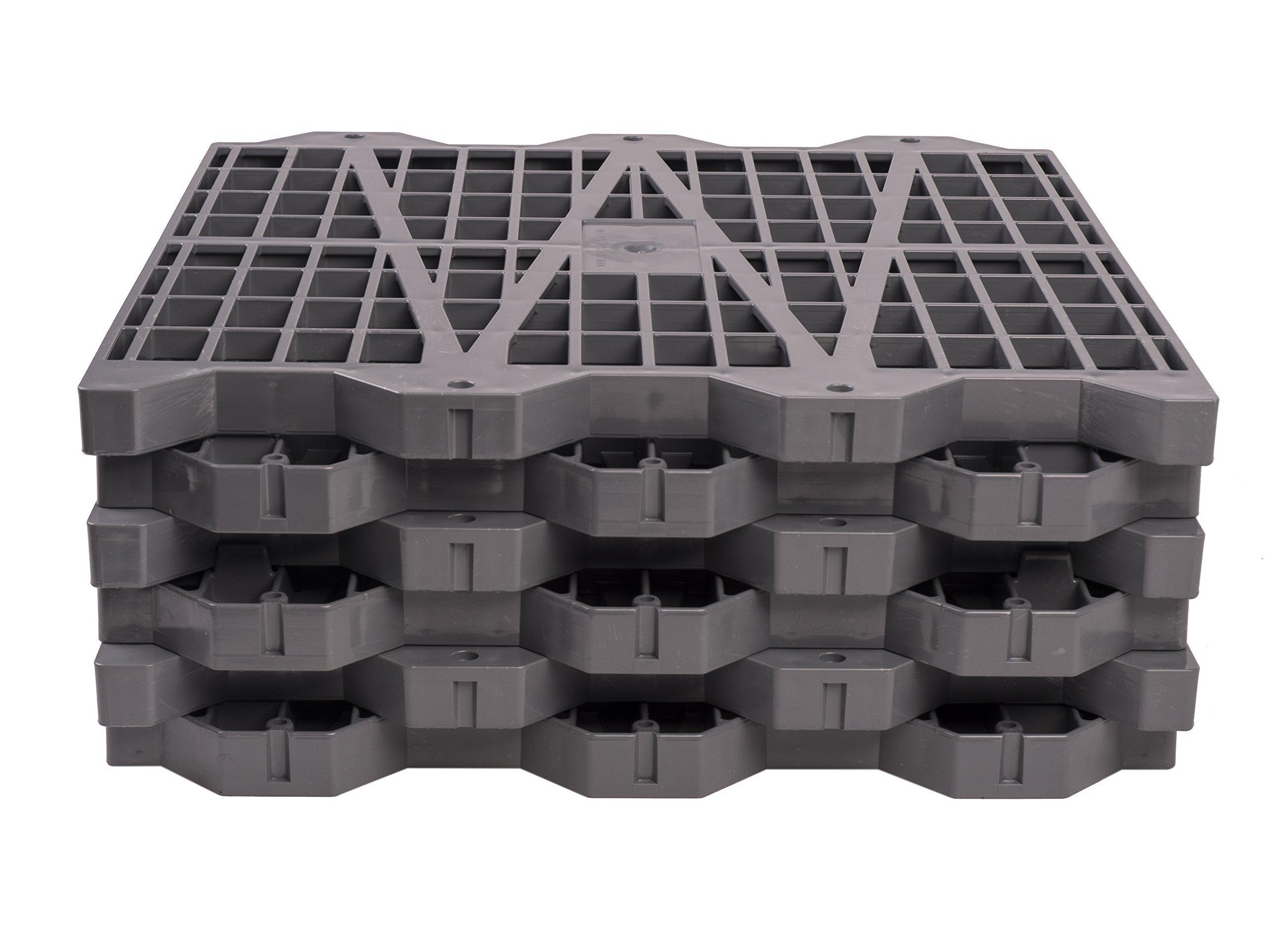Metro Products 16''x16'' Attic Dek Flooring, 6-Pack