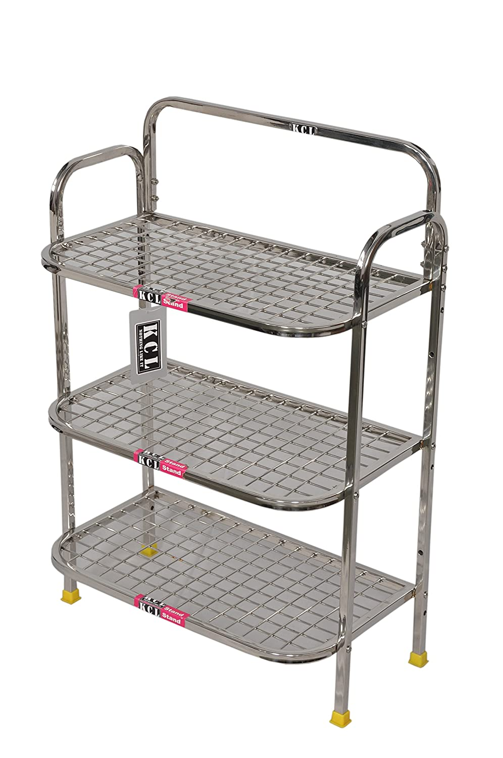 Buy kcl multi r stainless steel kitchen rack online at low prices in india amazon in