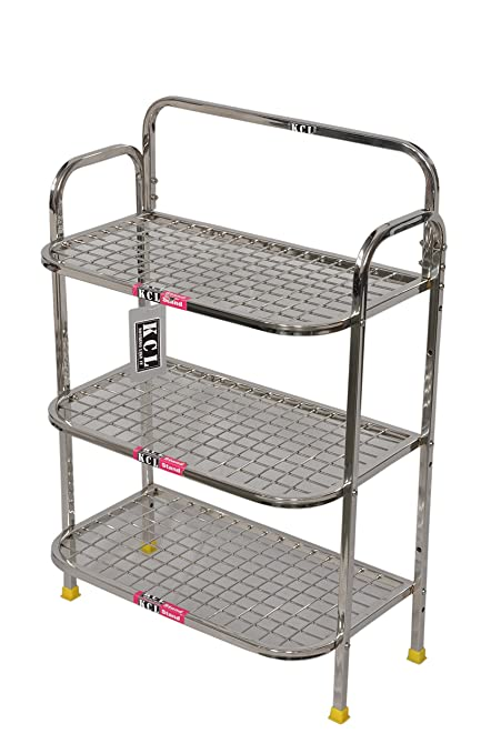 Buy KCL Multi R Stainless Steel Kitchen Rack, White Online ...