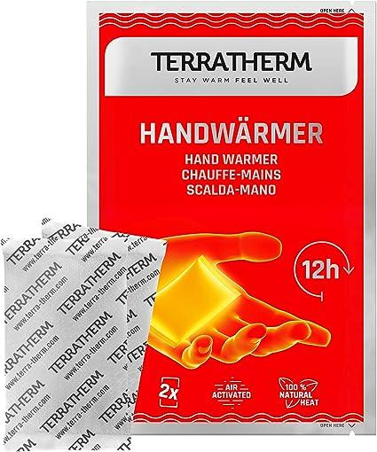 TerraTherm Calentadores de Manos, calienta Bolsillos para 12