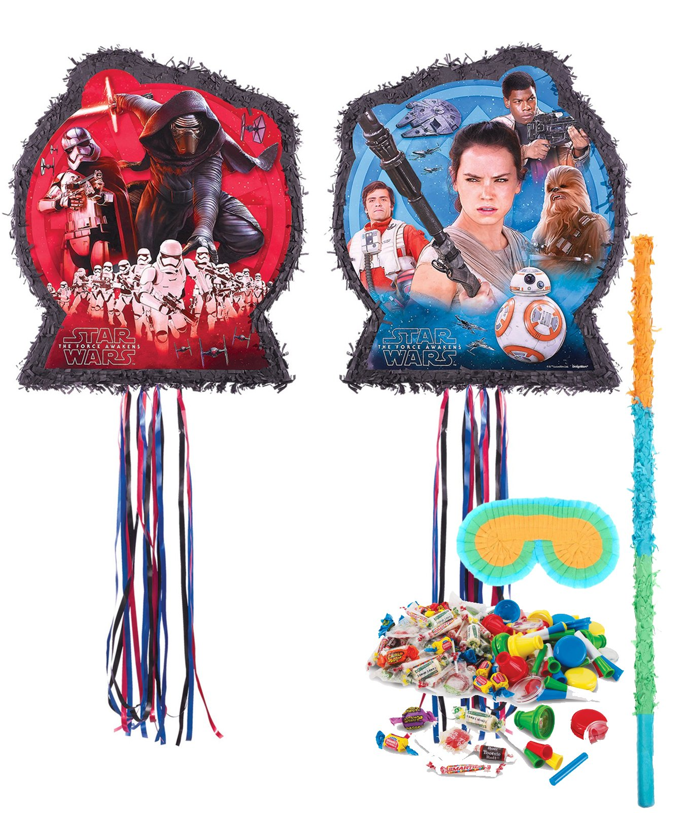 BirthdayExpress Star Wars The Force Awakens Party Supplies - Pinata Kit by BirthdayExpress
