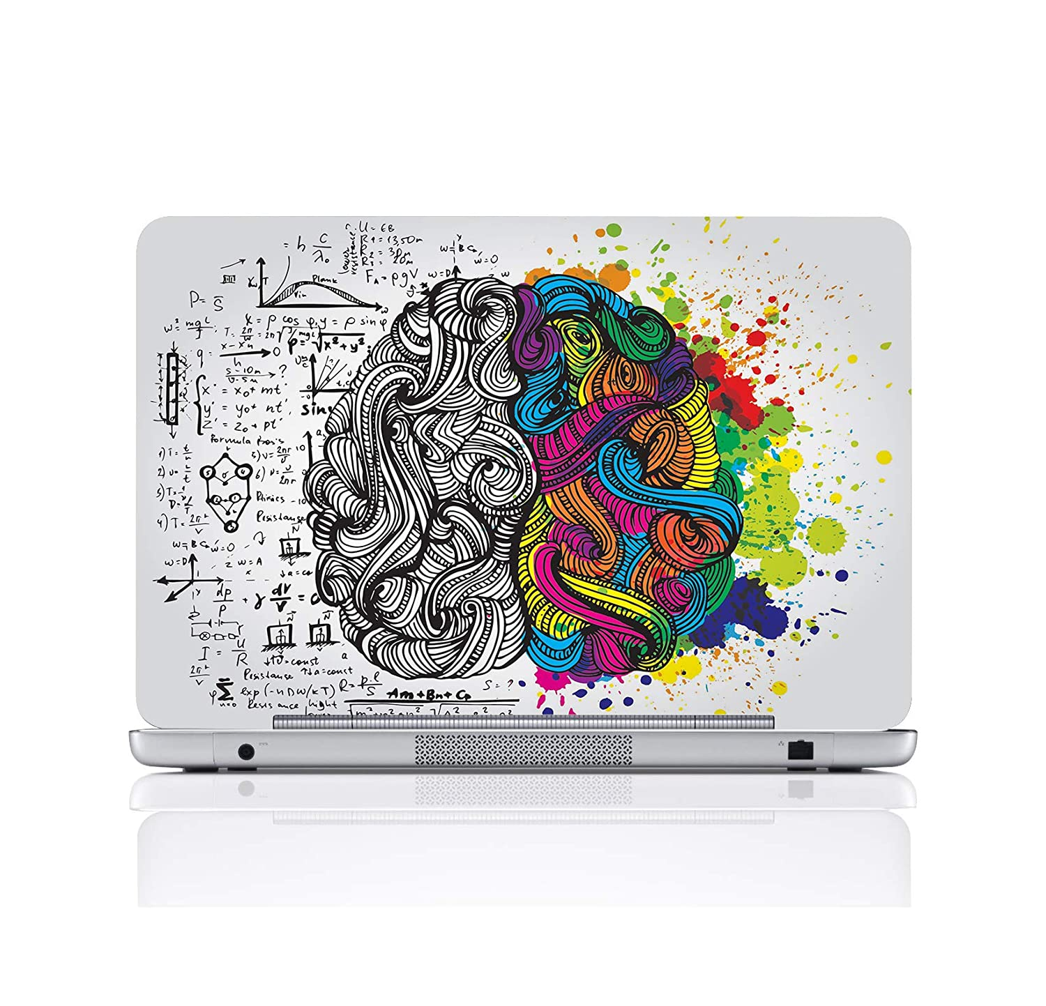 Ladecor laptop skin cover designer stickers print fits for all models up to 17 inch screen size 15 5 inch x 10 5 inch buy ladecor laptop skin cover