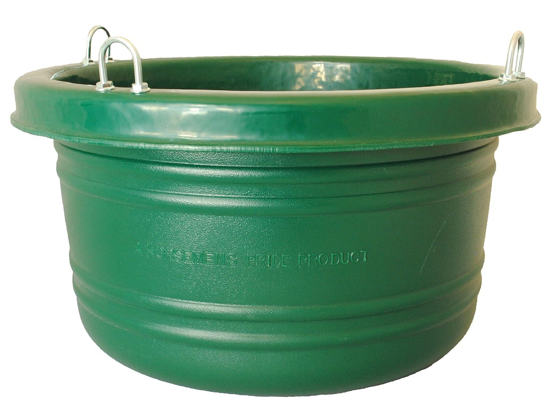 Horsemen's Pride 30-Quart Feed Tub, Green Horsemen' s Pride Inc. 001 GRN
