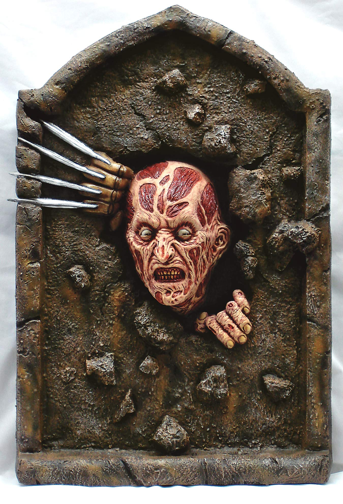Nightmare on Elm Street Freddy Krueger Tombstone Party Decoration