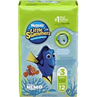 Huggies Little Swimmers Disposable Swimpants, Size: Small (7-12KG), 12 Pack - Packaging May Vary