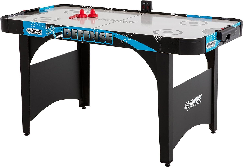Nuevo – Triumph defensa 5 mesa de Air Hockey: Amazon.es: Deportes y aire libre