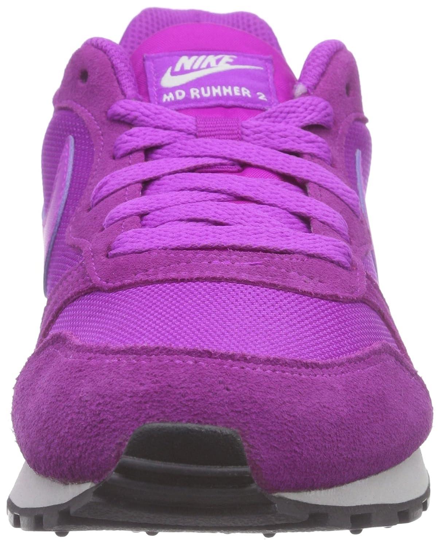 Nike Damen Md Runner 2 Hallenschuhe Violett (Vivid Purple/Mtllc Slvr-white 501)