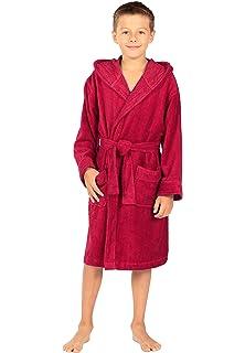 Texere Boys Hooded Terry Cloth Bathrobe Soft for Boys