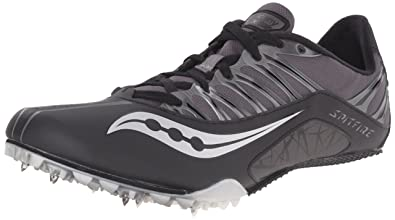 Saucony Spitfire athletic spike zapatos, size UK 4US 5EUR