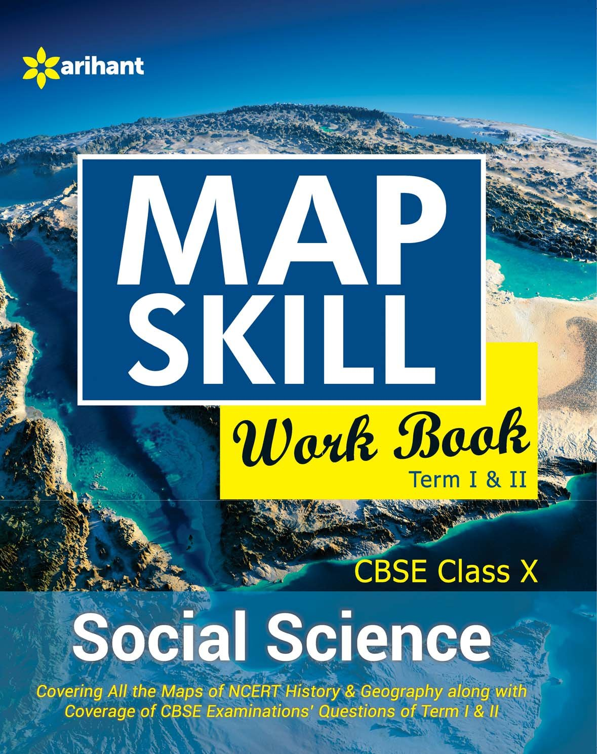 Map Skill WorkBook CBSE Social science 10th Term I & II: Amazon.in ...