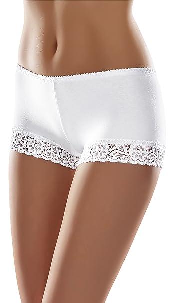Merry Style Bóxer Bragas de Encaje Shorty Sexy Ropa Interior Mujer MSGAB55: Amazon.es: Ropa y accesorios