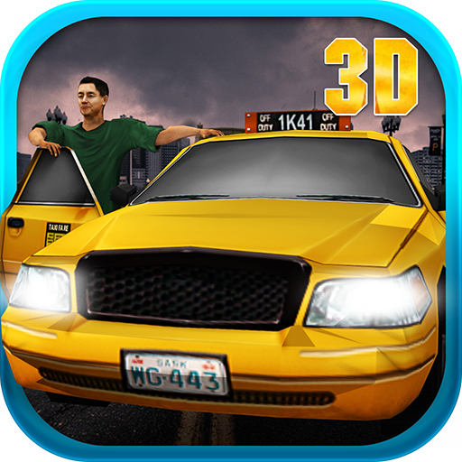 Crazy Taxi Fahrer Mania 3D