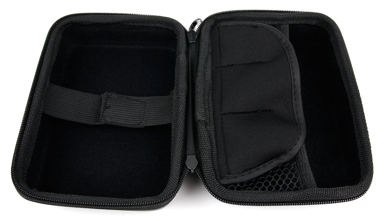 Dragon Touch Vision 3 DURAGADGET Housse /étui Noir 4.3 en EVA R/ésistant pour COOAU 4K WiFi Sports Camera DBPOWER N5 4K Action Camera Crosstour CT9500