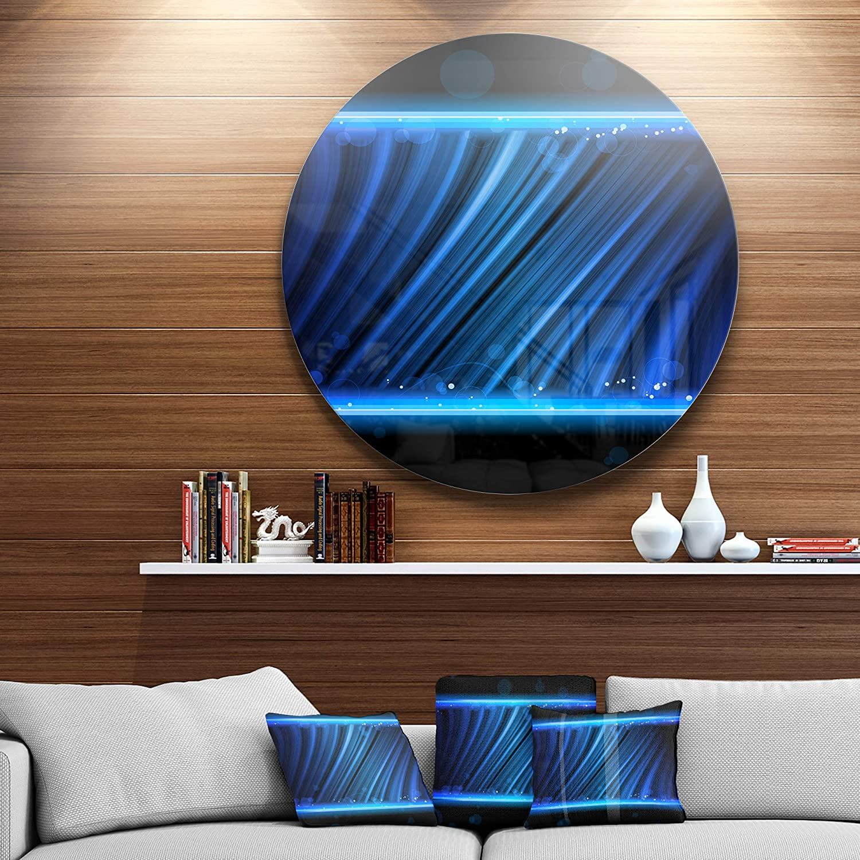 ArtWall 0gra013c3654f 3 Piece Daniel Grays Cosmic Wind Gallery Wrapped Floater Framed Canvas Set 36 x 54