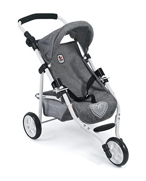 Puppenwagen Bayer Chic 2000 Puppen Jogging-Buggy LOLA Stars lila TOP