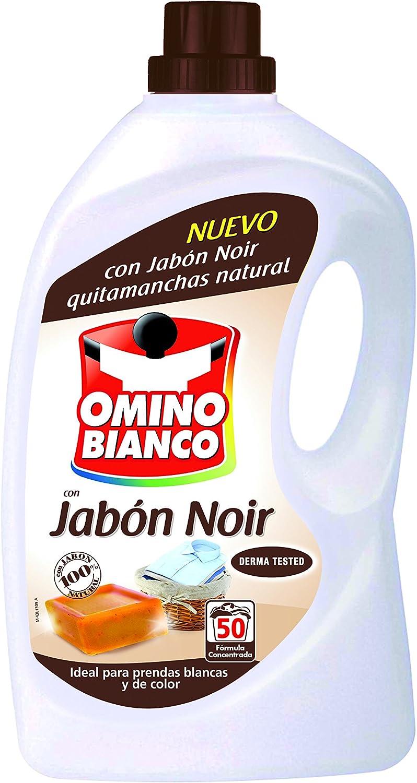Omino Bianco Detergente Máquina Jabón Noir - 3350 ml