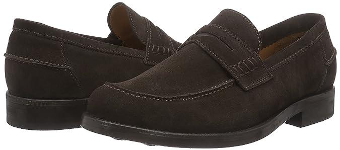 Lottusse LOTTUSSE Roma L6592 - Mocasines de Cuero Hombre, Color marrón, Talla 40: Amazon.es: Zapatos y complementos