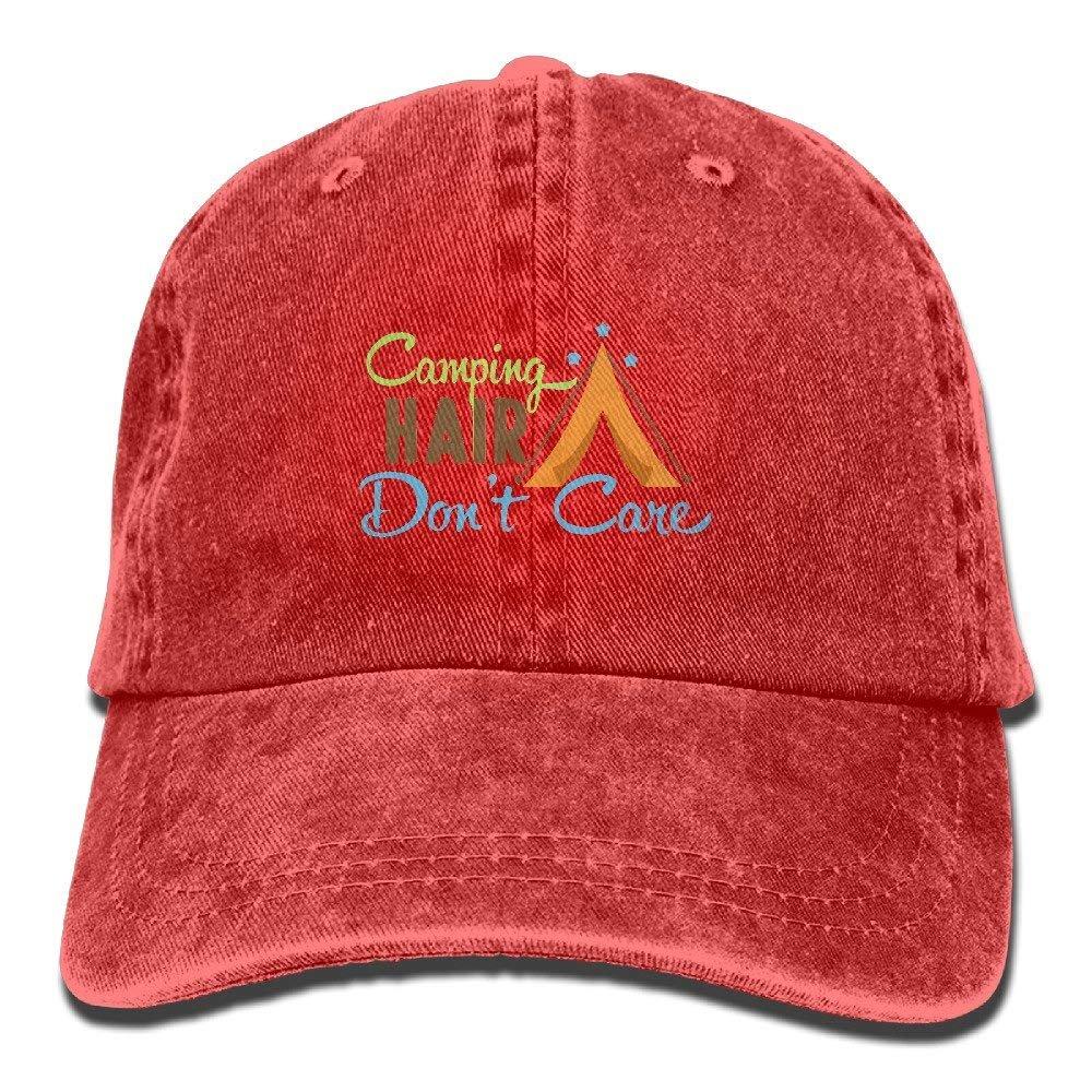 HU MOVR Cowboy Hat Camping Hair Dont Care Adult Sport Hat Adjustable
