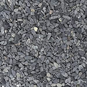 "Midwest Hearth Natural Decorative Gray Bean Pebbles 1/5"" Size (2-lb Bag)"