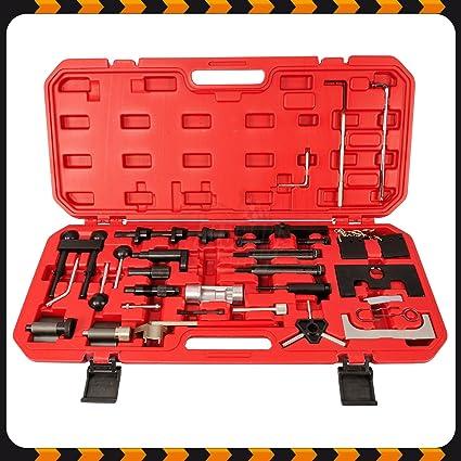 Caja de herramientas para sustitución de cinta de distribución ...