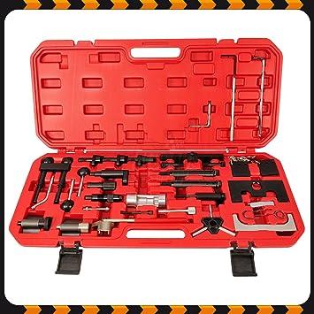 Caja de herramientas para sustitución de cinta de distribución: Amazon.es: Coche y moto