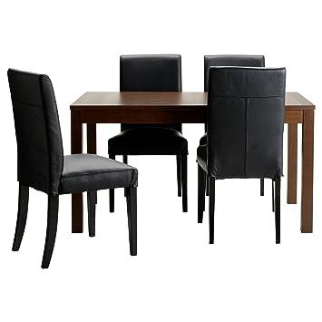 Bjurstahenriksdal Trading Marron Zigzag Ikea Ltd Table Chaises 4 drBoCWxe