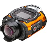 Ricoh WG-M1 Orange Waterproof Action Video Camera with 1.5-Inch LCD (Orange) (Discontinued by Manufacturer)