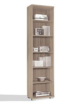 estantera librera biblioteca de pie alta color cambrian estantes regulables gruesos de mm