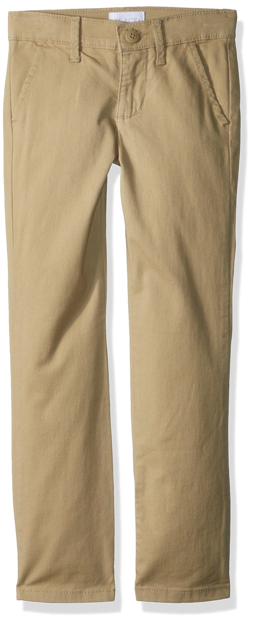 The Children's Place Big Girls' Skinny Pants, Sandy, 6X/7S