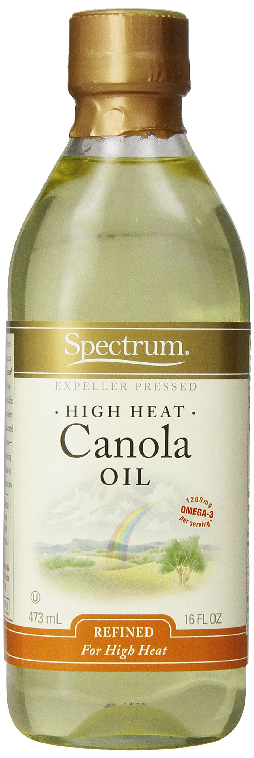 Spectrum, Canola Oil, 16 oz