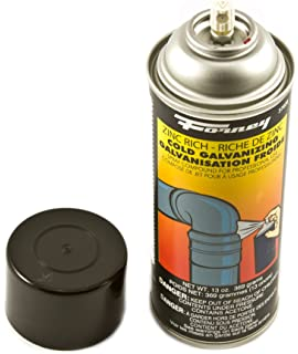 Rust-Oleum 1685830 1600 System Galvanizing Compound Spray Paint, 14