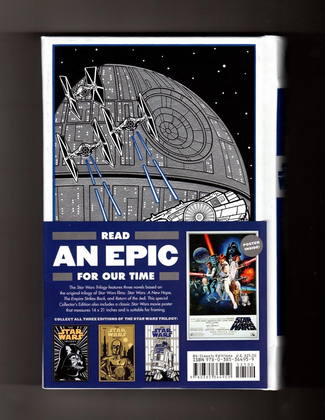 The Star Wars Trilogy Barnes Noble Leatherbound Classics White R2D2 Version Amazoncouk Donald F Glut James Khan George Lucas 9780385364959