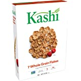 Kashi 7 Whole Grain Flakes Breakfast Cereal - Non-GMO Project Verified, 12.6 Oz Box