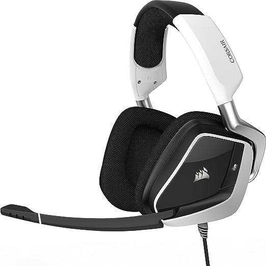 3 opinioni per Corsair Void Pro RGB USB Dolby 7.1 Cuffie Gaming con Microfono, Bianco