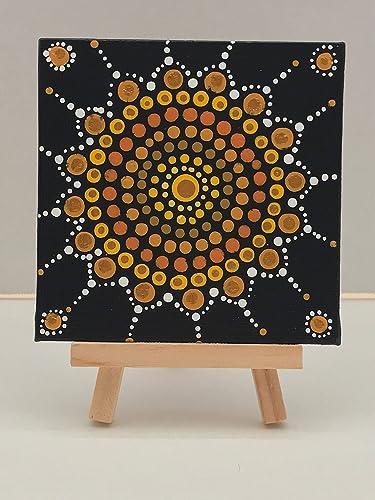 bb3ec49f7408a Amazon.com: Mini Painting, Mini Canvas, Art, Acrylic Paint, Wood ...