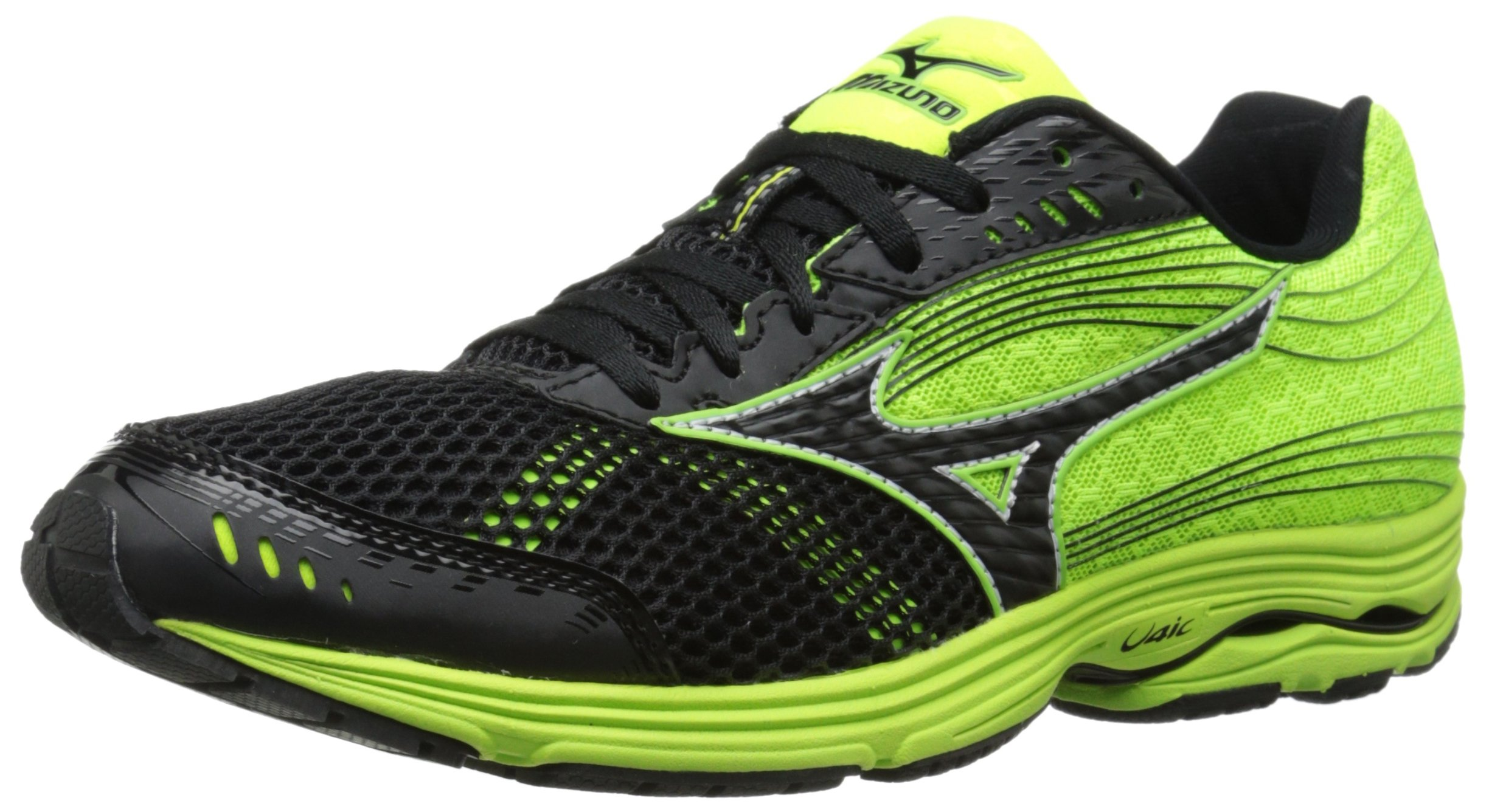 Ultra-lightweight construction and remarkable cushioning make the Mizuno  WaveSayonara 3 running shoe ideal for pushing personal limits in  competition ...
