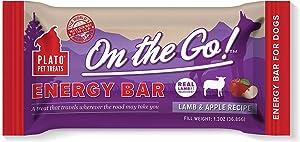 PLATO Energy Bar - Lamb and Apple Recipe