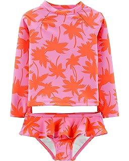 f3ca6d6e7 Amazon.com: OshKosh B'Gosh Girls' One-Piece Swimsuit: Clothing
