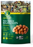 AZNUT Raw Hazelnuts Filbert Nuts , Shelled , Gluten Free, Fresh, Premium Quality 100 % Natural Non-GMO Project Certified…