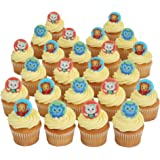 Daniel Tiger Officially Licensed 24 Cupcake Topper Rings by Bakery Crafts