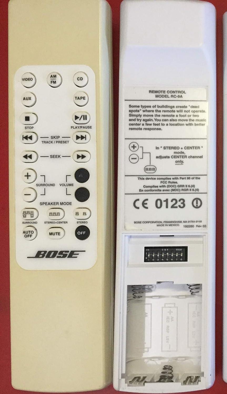 Calvas Original remote control RC-9A RC-9 suitable for bose Audio amplifier remote control lifestyle3 5 8 12 home theatre used