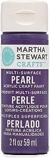 product image for Martha Stewart Crafts Martha Stewart Multi-Surface Pearl Craft Purple Martin, 2 oz Paint, 2 Fl Oz