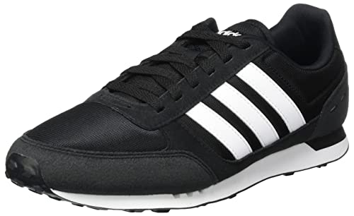 reputable site 3bed8 b5c6c adidas Mens Neo City Racer Gymnastics Shoes, (Core BlackFTWR White),
