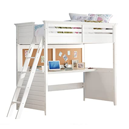 Prime Amazon Com Acme Furniture 37670 Lacey Loft Bed With Desk Home Interior And Landscaping Ologienasavecom