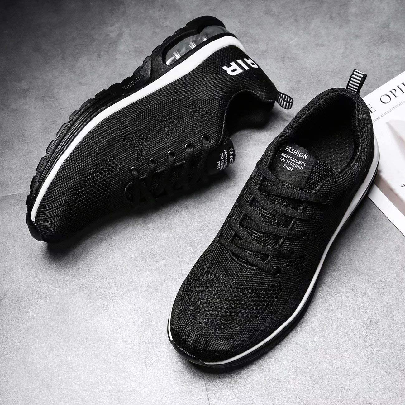   Socviis Men's Sneakers Running Shoes Lightweight Breathable Tennis Athletic Sport Air Fitness Gym Jogging   Road Running