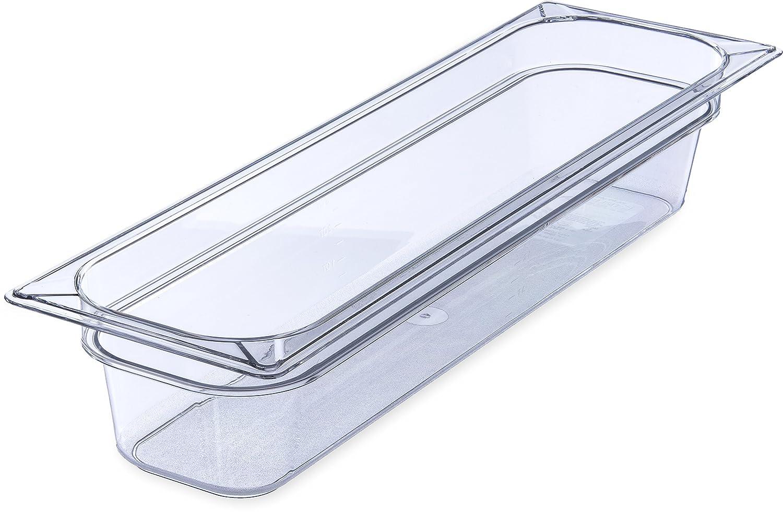 Carlisle 10241B07 StorPlus Half Size Long Food Pan, Polycarbonate, 4