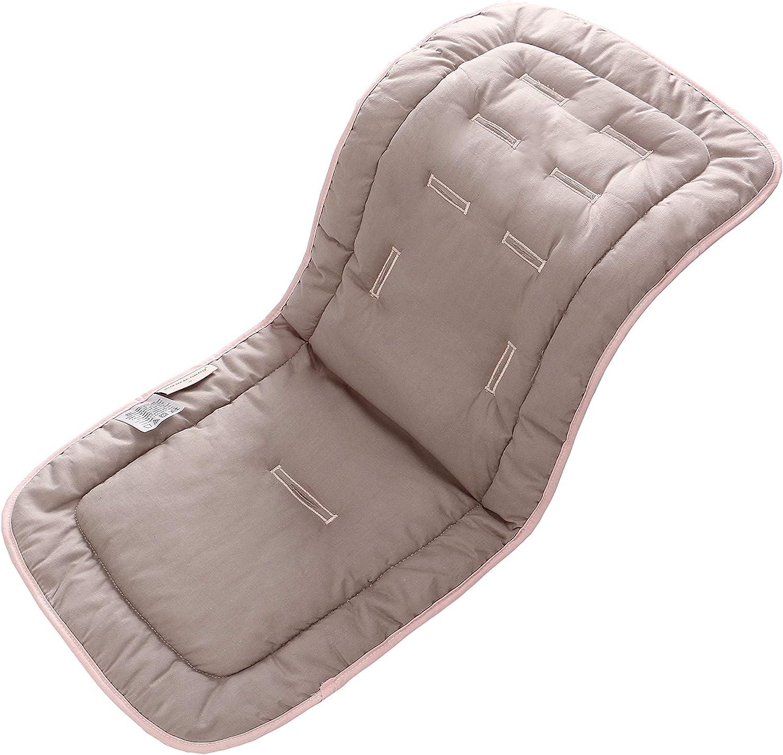 Coj/ín para cochecito de beb/é,coj/ín de algod/ón universal forro de asiento para beb/és,cochecito de ni/ño reci/én nacido asiento port/átil Cisne naranja