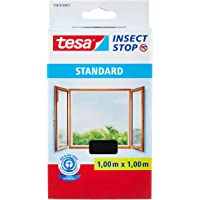 tesa Insect Stop Standard Vliegenhor voor Ramen - Insectenhor, raamhor - Met klittenband - Snij uw eigen horraam op maat…