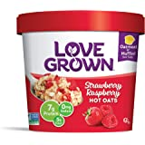 Love Grown Hot Oats, Gluten Free Strawberry Raspberry, 2.22 Ounce (Pack of 8)