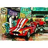 AMT1073/06 1/25 Cobra Racing Team Shelby Cobra/'53 Ford